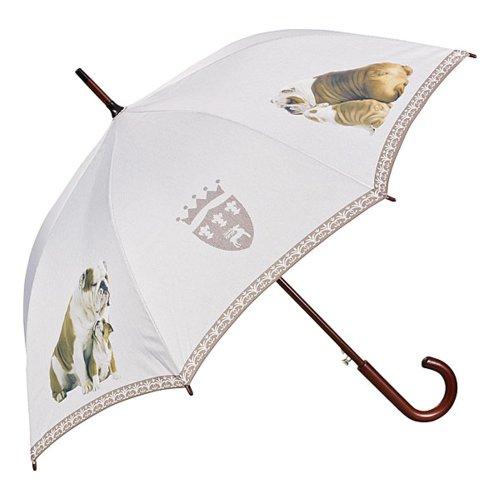 Bulldoggen-Regenschirm