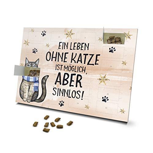 printplanet - Katzen Adventskalender - Layout EIN Leben...