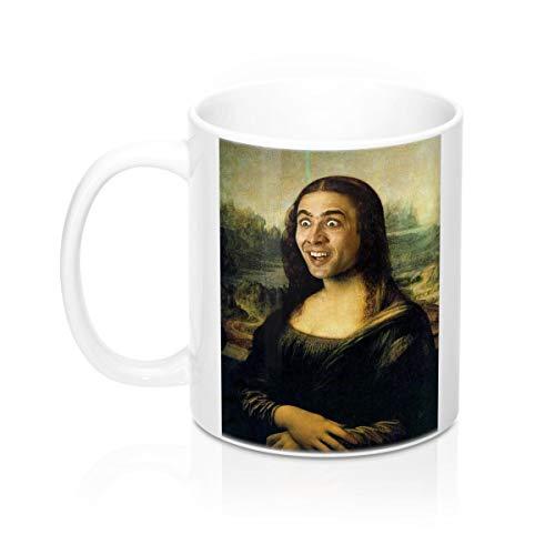 Nicolas Cage-Mona Lisa-Tasse