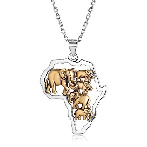 Afrika-Halskette