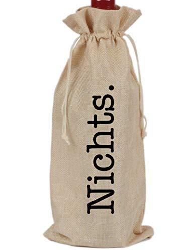 NICHTS-Flaschenbeutel