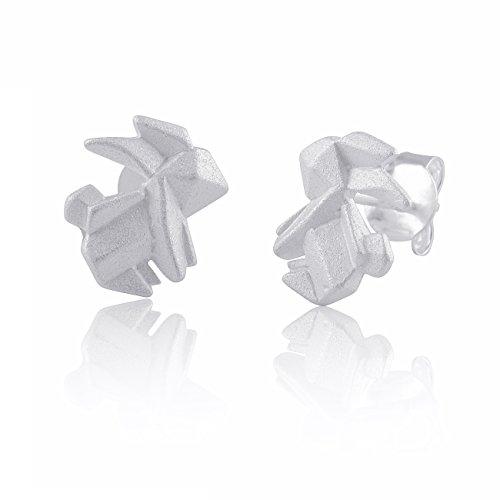 Ohrringe Origamihase