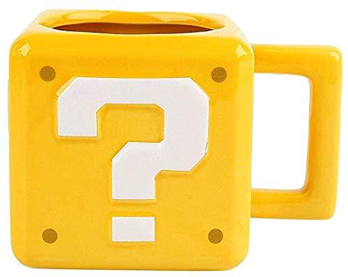 Fragezeichenblock-Tasse