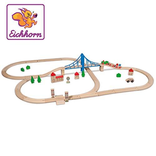 Holz-Eisenbahn