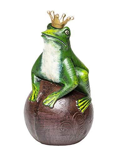 Froschkönig-Dekofigur