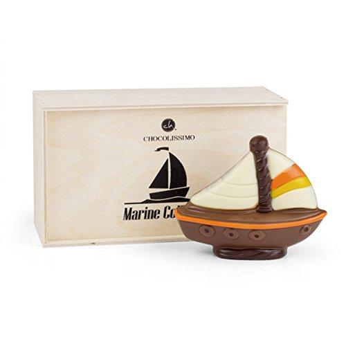 Segelboot aus Schokolade