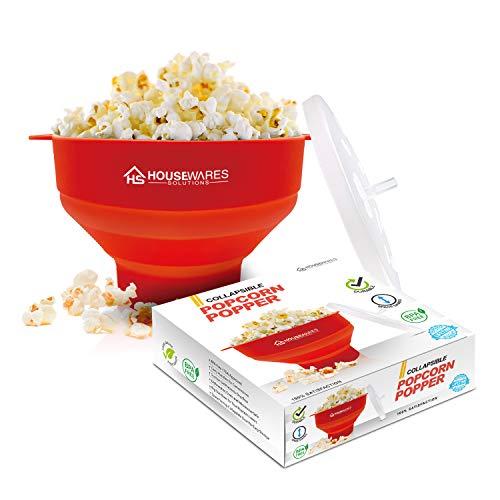 Popcornschüssel aus Silikon