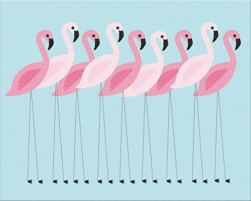 Flamingo-Unterlage
