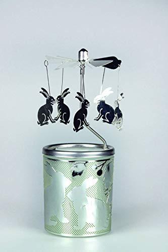 Hasen-Teelicht