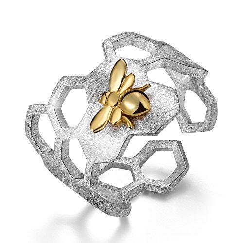 Bienenwaben-Ring