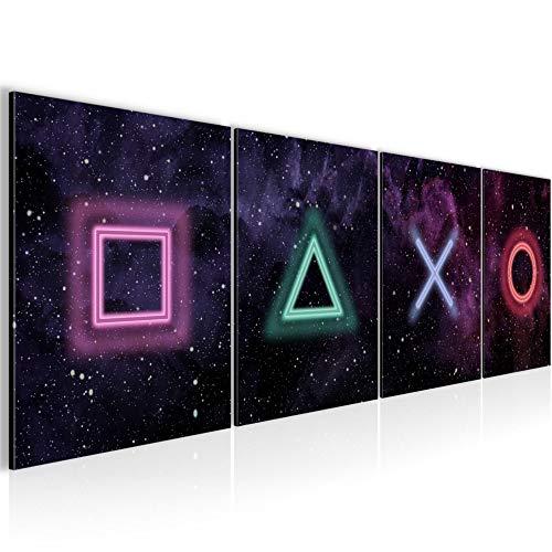 Playstation-Wandbild