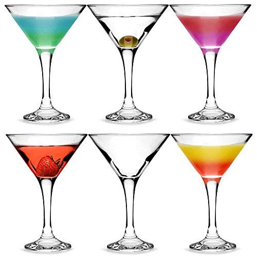 Martini-Cocktailgläser