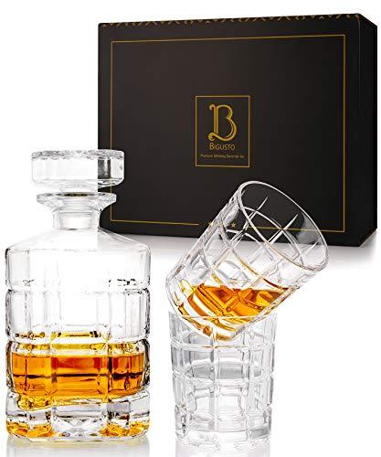 Whiskey-Set Karaffe und Gläser