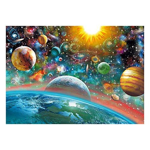 Weltraum-Puzzle