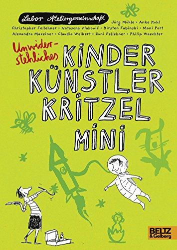 Kinder Künstler Kritzelmini