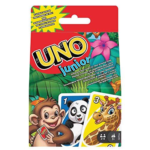 Mattel Games GKF04 UNO Junior Kartenspiel für Kinder...