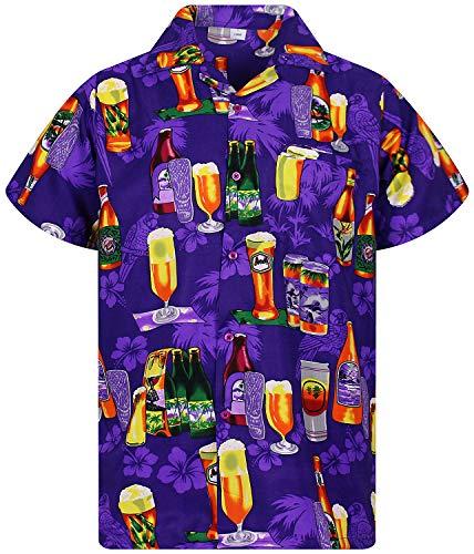 Hawaiihemd für Biertrinker