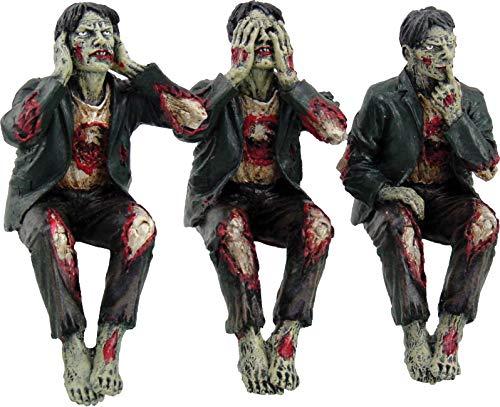 Dekofiguren Zombie-Trio