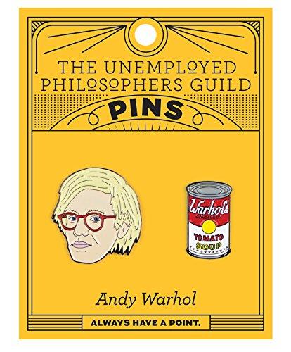 Andy Warhol-Broschen