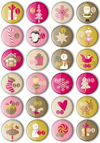 Xmas-Buttons