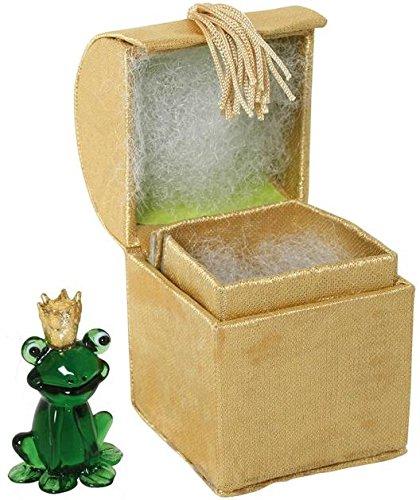 Glasfigur Froschkönig
