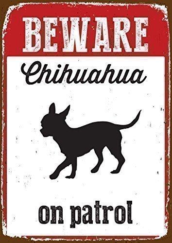 Chihuahua-Warnschild