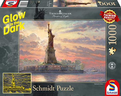 Thomas Kinkade Glow in the Dark-Puzzle