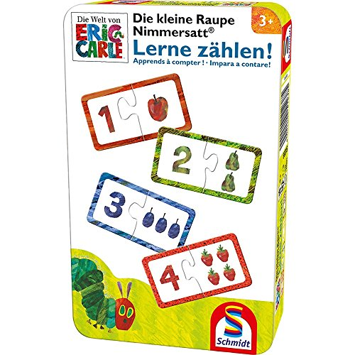 Kleine Raupe Nimmersatt Reisespiel