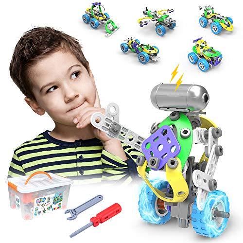 CENOVE STEM 5 IN 1 Bildungsbausteine Spielzeug für...