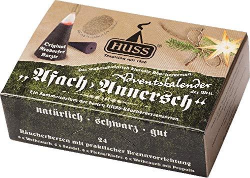 Huss Räucherkerzen-Adventskalender Mini