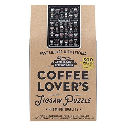 Puzzle für Kaffeefans