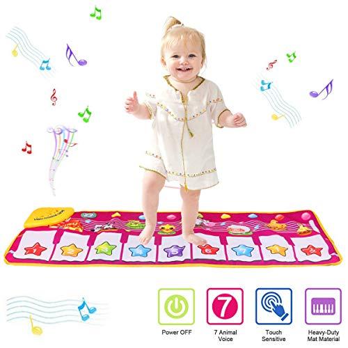 PROACC Klavier Playmat, Kinder Klaviertastatur Musik Playmat Spielzeug, große...
