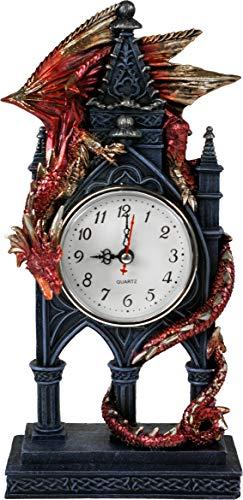 Drachen-Uhr