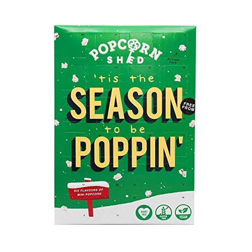 Mini-Popcorn Adventskalender vegan