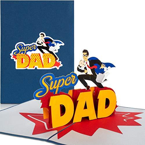 Pop Up Karte 'Super Dad'
