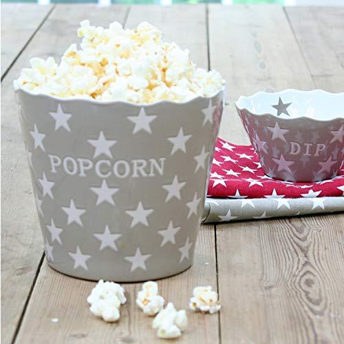 Popcorn Schale aus Keramik