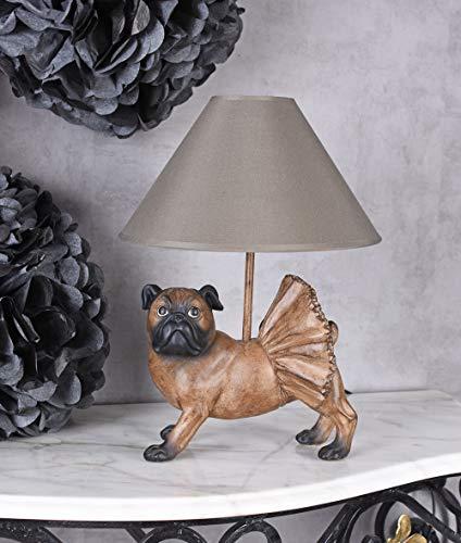 Mops-Lampe