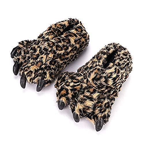 Leoparden-Hausschuhe