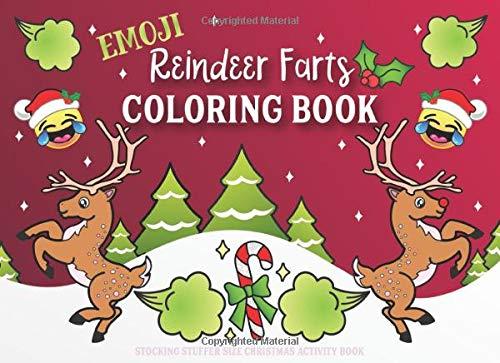 Reindeer Farts Coloring Book