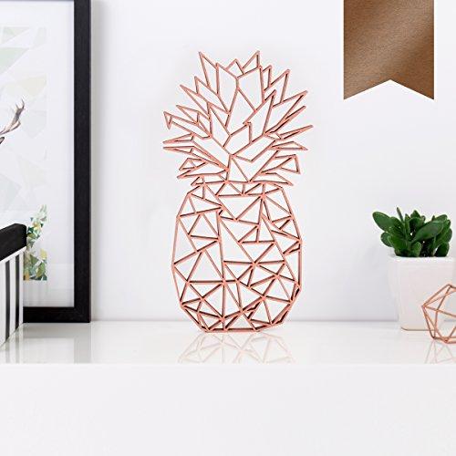 Ananas-Wanddeko