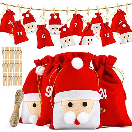 Filz-Weihnachtsgeschenktüten
