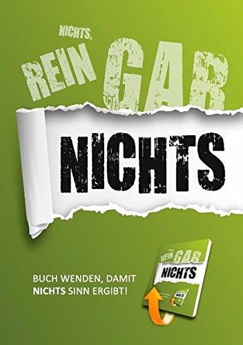 NICHTS-Taschenbuch