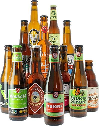 Exklusives Set mit Bio-Craft Bier aus aller Welt