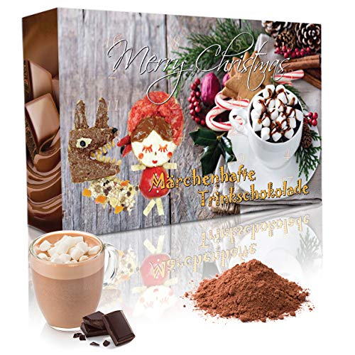 Adventskalender mit Trinkschokolade