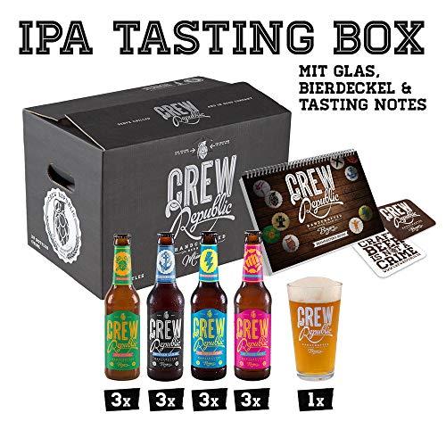 IPA Craft Bier-Geschenkset mit Glas