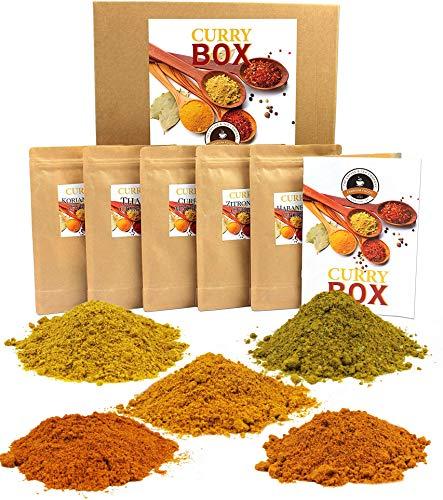 Curry Gewürzmischungen