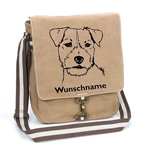 Canvas-Tasche mit Wunschnamen