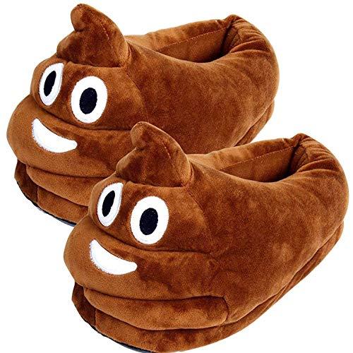 Poop Emoji-Hausschuhe