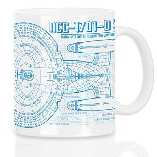 Enterprise NCC-1701-D Tasse