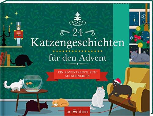 24 Katzengeschichten für den Advent